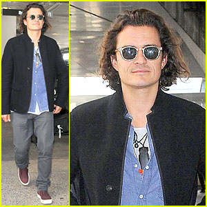 Orlando Bloom Gives Awesome Gym Secret to Avoiding Jet Lag