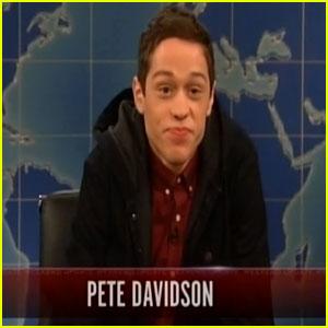 Pete Davidson Makes 'SNL' Debut & Steals the Show (Video)