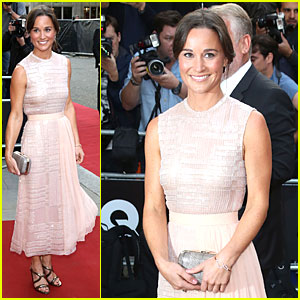 Pippa Middleton is the Epitome of Elegance at GQ Men of the Year Awards 2014