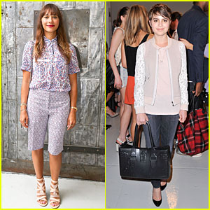 Rashida Jones & Sami Gayle Hit Rebecca Taylor Fashion Show