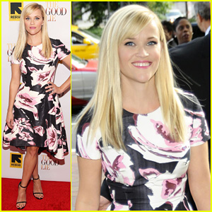 Reese Witherspoon Goes Floral for 'The Good Lie' Premiere in Washington, DC!