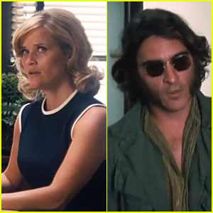 Reese Witherspoon & Joaquin Phoenix Go Back to the 1970s in 'Inherent Vice' Trailer - Watch Now!