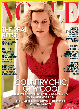 Reese Witherspoon Covers 'Vogue,' Talks Raunchy Sex Scenes