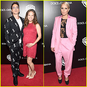 Robert Downey Jr. & Noomi Rapace's Bold Suits Capture Our Attention at TIFF Cocktail Party!