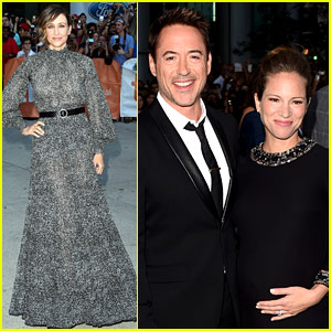 Robert Downey Jr. Brings Pregnant Wife Susan to 'The Judge' Toronto Premiere