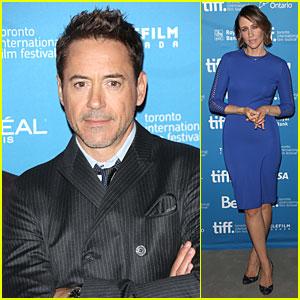 Robert Downey Jr. & Vera Farmiga Take 'Judge' to TIFF Photo Call