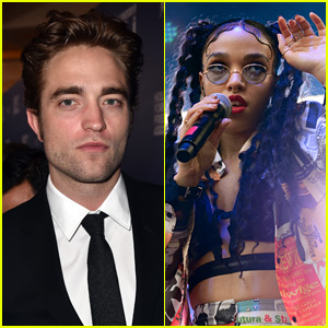 Robert Pattinson Reportedly Dating British Singer FKA Twigs
