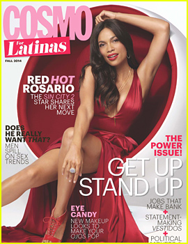 Rosario Dawson Reveals 'I Love Men,' But 'I Was a Virgin Until I Was 20!'