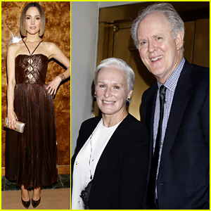 Rose Byrne & Glenn Close Have a 'Damages' Reunion at 'You Can't Take It With You' Opening!