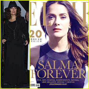 Salma Hayek Celebrates Her 48th Birthday, Covers 'Elle Mexico' September 2014!