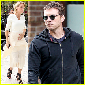 Sam Worthington & Lara Bingle Face More Pregnancy Rumors As She Rests Her Hand on Her Tummy