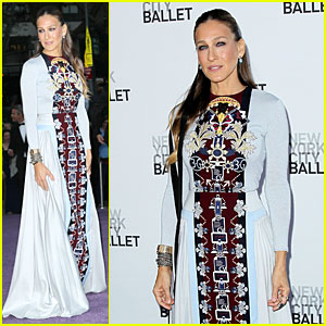 Sarah Jessica Parker Is the Epitome of Classy Chairman at NYC Ballet Fall Gala 2014