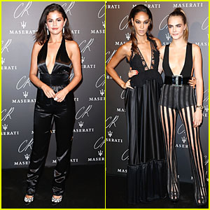 Selena Gomez & Cara Delevingne Take the Plunge at CR Fashion Book Launch Party!