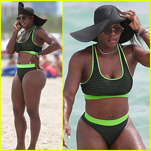 Serena Williams Flaunts Curvy Bikini Body in Miami