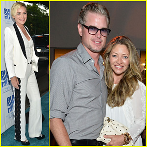 Sharon Stone & Eric Dane Step Out for Project Angel Food's 25th Anniversary Angel Awards 2014!