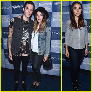 Shenae Grimes & Josh Beech Stay Close at People StyleWatch Event!
