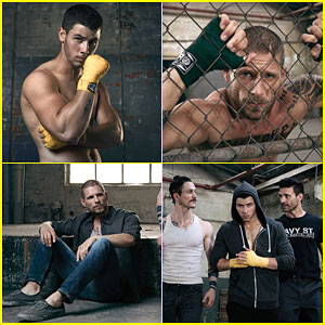 Nick Jonas & Matt Lauria Are Shirtless Hunks in These New 'Kingdom' Promos!