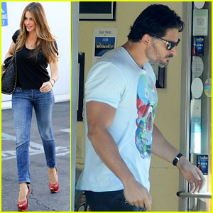 Sofia Vergara & Joe Manganiello Are Back in Los Angeles After the Human Rights Campaign Event in Seattle