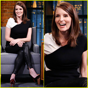 Tina Fey Compares Differences Between Canadian & American Fans on 'Late Night with Seth Meyers'