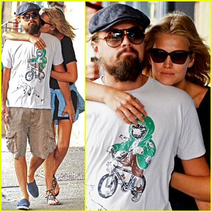 Toni Garrn Can't Keep Her Hands Off of Boyfriend Leonardo DiCaprio in NYC