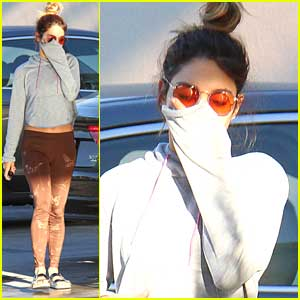 Vanessa Hudgens Makes A Juice Run After Afternoon Hike