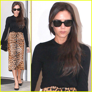 Victoria Beckham Is 'So Excited' to Stop by Her London Store