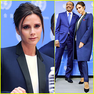 Victoria Beckham Skips London Store Opening For UN Conference