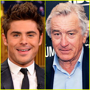 Zac Efron & Robert De Niro Team Up for Raunchy Comedy 'Dirty Grandpa'