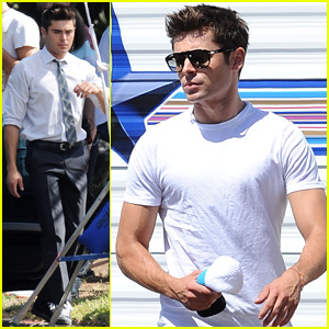 Zac Efron Suits Up with Jon Bernthal for 'We Are Your Friends'