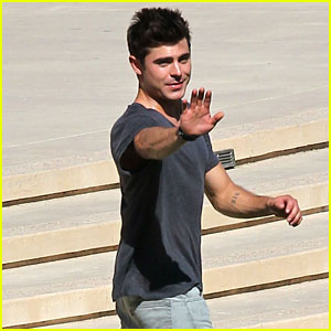 Zac Efron Gets Into Character for 'We Are Your Friends'