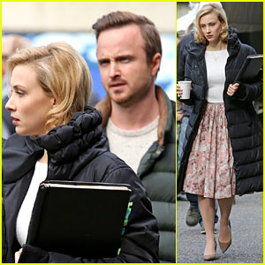 Aaron Paul Suggests You Run to the Theater & See 'Whiplash'!