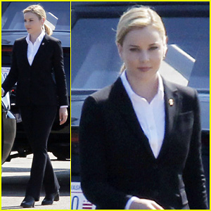 Abbie Cornish Joins Andy Garcia & Ed Harris On The Set of 'Geostorm' in New Orleans!