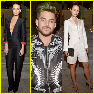 Adam Lambert & Emily Ratajkowski Help Dsquared2 Celebrate Their First Boutique Opening!
