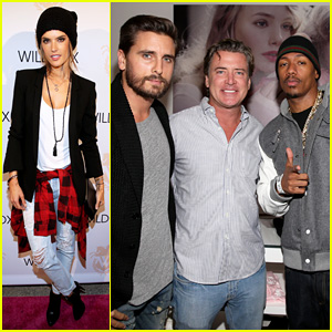 Alessandra Ambrosio, Scott Disick & Nick Cannon Make It A Party at Wildfox Flagship Store Launch!