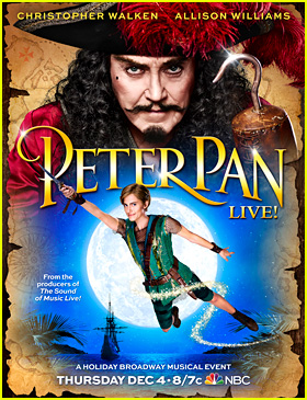Allison Williams Takes Flight on First 'Peter Pan Live' Poster!