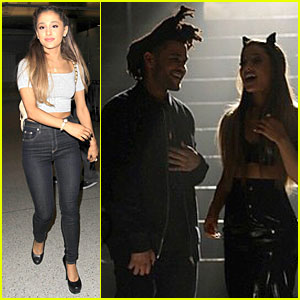 Ariana Grande Flaunts Midriff In 'Love Me Harder' Behind the Scenes Pic