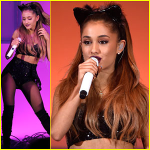 Ariana Grande's Outfit Tries to 'Break Free' at We Can Survive 2014