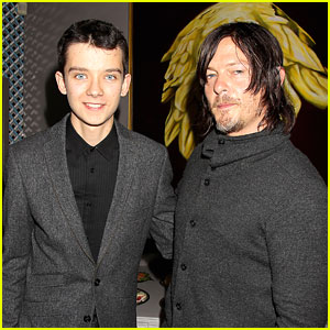 Asa Butterfield & Norman Reedus Are Guys in Gray at the Savannah Film Festival