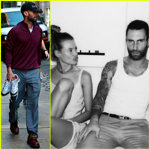 Behati Prinsloo Shares BTS 'Animals' Photo with Adam Levine!