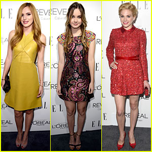 Bella Thorne & Liana Liberato Bring Youth to Elle Women in Hollywood Celebration