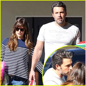 Ben Affleck Kisses Wife Jennifer Garner After Gone Girl's Opening Weekend Success!