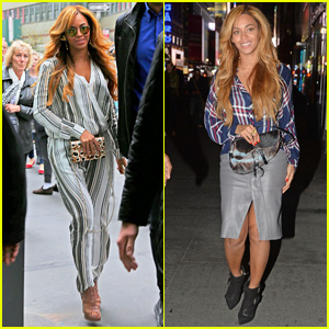 Beyonce Gets Back to Business after Date Night with Jay Z