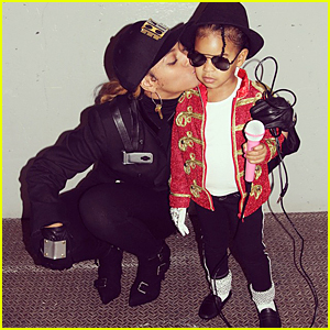 Beyonce & Blue Ivy Dress Up as Janet & Michael Jackson For Halloween