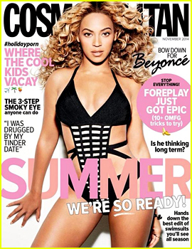 Beyonce Looks Amazing in a Sexy Swimsuit for 'Cosmopolitan Australia' November 2014