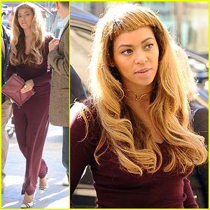 Fine Beyonce Debuts New Hair With Short Bangs See The Look Beyonce Short Hairstyles For Black Women Fulllsitofus