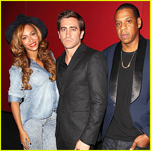 Beyonce & Jay Z Support Jake Gyllenhaal's 'Nightcrawler'