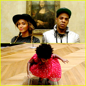 Blue Ivy Carter Has a Marilyn Monroe Moment at the Louvre!