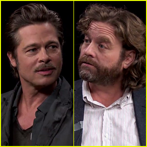 Brad Pitt Sits Down With Zach Galifianakis For The Craziest Between Two Ferns Interview Ever Watch Now