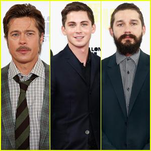Brad Pitt is a Tough Guy to Punch, Says Co-Star Logan Lerman
