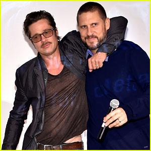 Brad Pitt Used Son Maddox as His 'Fury' Tank Consultant